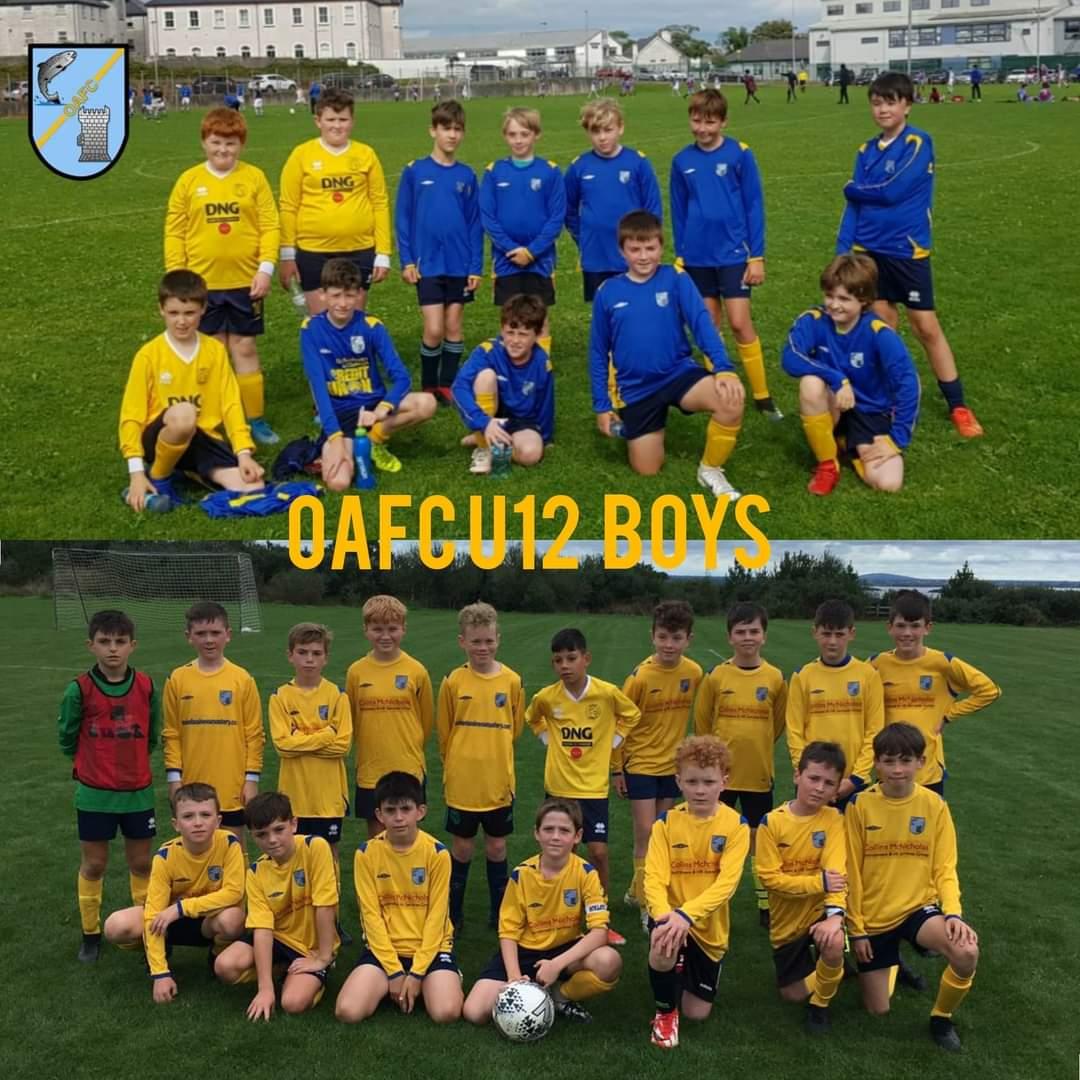 U12 Oughterard AFC Boys
